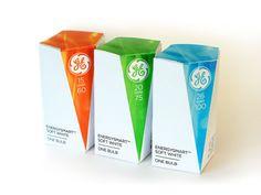 Упаковка мира: Креативный дизайн упаковки архива и галерея: GE Лампочки (студенческая работа)