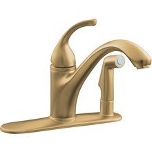 View the Kohler K-10413 Single Handle Kitchen Faucet with Side Spray from the Forte Collection at FaucetDirect.com.