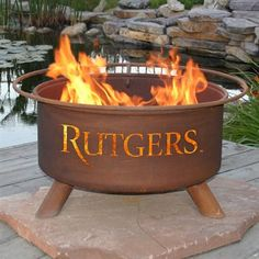 Patina Products NCAA Fire Pit