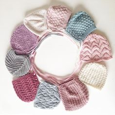 Kysesyke, sa… Knitted Baby Clothes, Baby Hats Knitting, Crochet Baby Hats, Knitting For Kids, Knit Crochet, Knitted Dolls, Knitted Hats, Tricot Baby, Finger Crochet