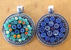 Creative Glass Guild. ..Mosaic Pendant workshop