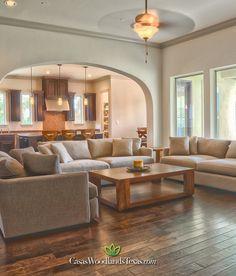 #Casas #Interiores #Sala #Cocina