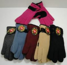 Ladies Thermal Insulate Gloves with Suede Palm-Colors Insulated Gloves, Winter Gloves, Palm, Colors, Fashion, Moda, La Mode, Colour, Fasion