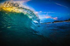 Bonaire waves. - Bonaire waves.