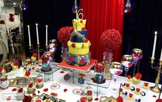 Belle / Beauty and the Beast Quinceañera Party Ideas | Photo 20 of 22