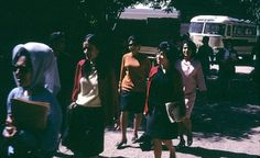 This picture of Afghan women attending university in 1967 could have been taken anywhere in the Western world