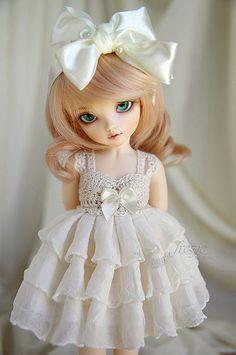 Cream dress - variant for Momocolor 29cm | Flickr - Photo Sharing!