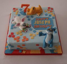 Digimon cake....so cool!
