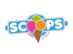 ice cream logo   ... the Logo Design Contest Captivating Logo Design for SCOOPS ICE CREAM