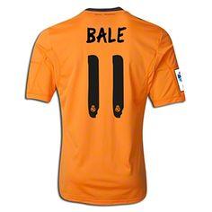 2578d0682 adidas Gareth Bale Real Madrid Third Jersey 13 14 Soccer Tips