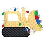 Ornament Dozer Applique