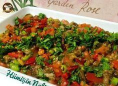 Mamzana (Edirne Yöresine Ait) Turkish Recipes, Ethnic Recipes, Fried Rice, Salsa, Fries, Veggies, Appetizers, Mexican, Snacks