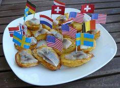 Deutsche Tapas - Matjes mit Bratkartoffeln - katha-kocht!