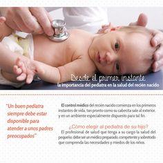 Mi Pediatra y Familia - Desde el primer instante: la importancia del pediatra en la salud del recién nacido  #mipediatrayfamilia #queremosniñossaludables
