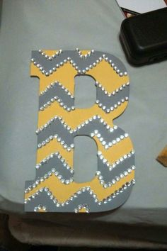 Chevron Dorm Room Wall Art