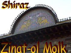 Minunata reşedinţă în stil Qajar a aparţinut odinioară familiei Qavam ol-Molk şi se numeşte Zinat-ol Molk (numele surorii lui Mirza Ebrahim Khan- e Qavam, guvernatorul provinciei Fars în perioada Qajar) Places To Travel, Asia, Presentation, Public, Universe, Destinations, Holiday Destinations, Travel Destinations