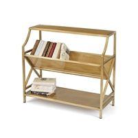 Brass Periodical Shelf