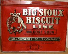 Big Sioux Biscuit Line Waldorf Soda