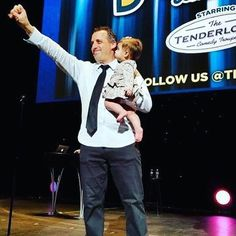 Joe with his daughter, Milana