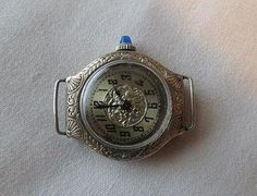 Home: Item page  Valuation  Ladies, white gold filled, manually wound wristwatch, imported from Switzerland by the Stona Watch Company of N.Y.C.,
