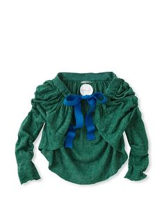 kicokids Girl's 3/4 Sleeve Cape Shrug - cute, cute