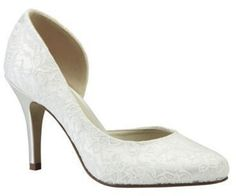 Pin for Later: Cinderella wäre auf diese Schuhe ganz schön neidisch  Pink by Paradox London D'orsay-Pump (84 €)