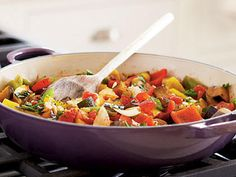 Ratatouille   Ratatouille requires a good amount of chopping, but it's definitely worthy it for this veggie-packed side dish.