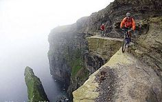 The Most Dangerous Bike Ride Trail