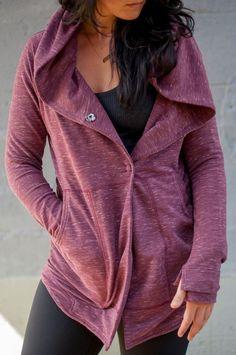 Yo quiero chaqueta eso es Lululemon - ochenta dóllares!
