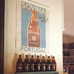 Si me gustase la cerveza tendría que aficionarme a esta, es una belleza!!! #cerveza #Portugal #Lisboa #design #sovina