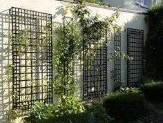 wrought iron garden trellis panels - Google Search