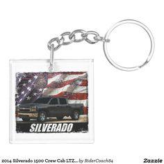 2014 Silverado 1500 Crew Cab LTZ 4x4 Keychain