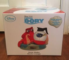 "Disney Store Finding Dory Snowglobe Hank 6"" x 8"" Brand New Authentic | eBay"