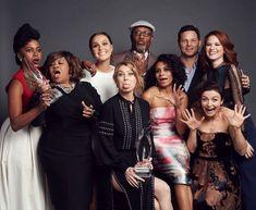 Grey's Anatomy Cast 2015