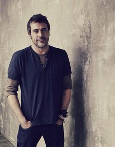 Jeffrey Dean Morgan. I don't know what he's most well-known for, but I know him best for his work on the hit television series Supernatural, as well as on the horror movie The Possession. Most favor is his roll he played in Greys Anatomy as Denny Duquette.