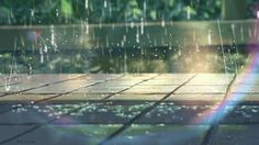 Moving Rain Animation   rain rainy raindrops rainfall rain art animated GIF