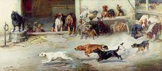 Hot Pursuit Painting  - William Henry Hamilton Trood