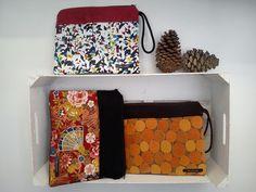 Combinaciones de telas japonesas, panas, algodones y telas de tapicería