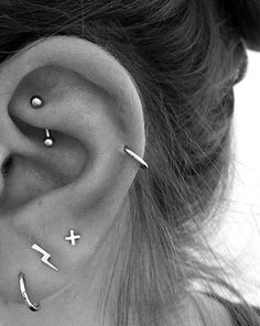 Ear piercing ideas for teens ear piercing ideas for teens ear pierc . - Ear piercing ideas for teens ear piercing ideas for teens Ear piercing ideas for teenagers # - Ear Peircings, Cute Ear Piercings, Body Piercings, Tongue Piercings, Cartilage Piercings, Unique Ear Piercings, Different Ear Piercings, Multiple Ear Piercings, Name Jewelry