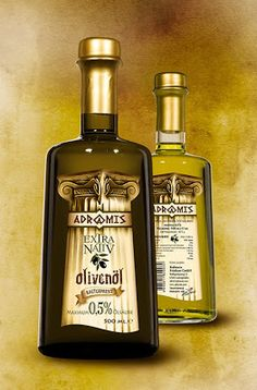 Olive Oil Label for ADRAMIS on Packaging of the World - Creative Package Design Gallery