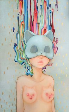 This collection of surreal and unique oil paintings are by Camilla d'Errico, she is currently based in Vancouver, BC. Camilla is a comic artist and Camilla, Pop Art, Pop Surrealism, Weird Art, Comic Book Artists, Erotic Art, Artist Art, Fine Art Prints, Illustration Art
