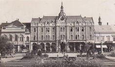 Satu Mare - Hotel Dacia - interbelica Israel, Louvre, Building, Places, Buildings, Construction, Lugares