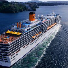 Costa Deliziosa Norve Fiyordlarnda 2012 tbt uzmancruise hayatadenizdenbakanlar cruise costacruisehellip
