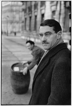 © Henri Cartier-Bresson/Magnum Photos Paris. Circa 1947. French playwright, Jean ANOUILH.