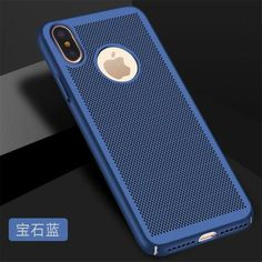COOQII Heat dissipation Phone case For iPhone x Cases Hard Back Full Cover  Breathable shell For ec6ad86cf57