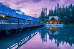 Emerald lake by César Asensio Marco on 500px