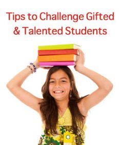 """The ABCs of Challenging Gifted and Talented Kids"" on Virtual Learning Connections http://www.connectionsacademy.com/blog/posts/2013-04-08/The-ABCs-of-Challenging-Gifted-and-Talented-Kids.aspx"