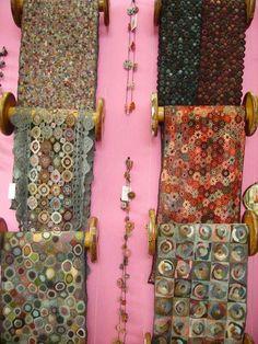 Sophie Digard crochet scarves: