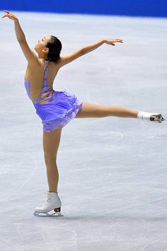 Mao Asada of Japan competes in the women's short program during day one of ISU Grand Prix of Figure Skating 2013/2014 NHK Trophy at Yoyogi National Gymnasium on November 8, 2013 in Tokyo, Japan.