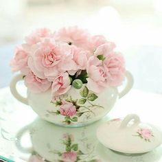 """Today I have selected """"Carnation Sweetness"""" by Melpo Siouti. Congrats Melpo ღ Pink Carnations, Pink Hydrangea, Pink Tulips, Herbaceous Perennials, Purple Iris, Rose Cottage, Summer Garden, Vintage Tea, Rose Petals"""